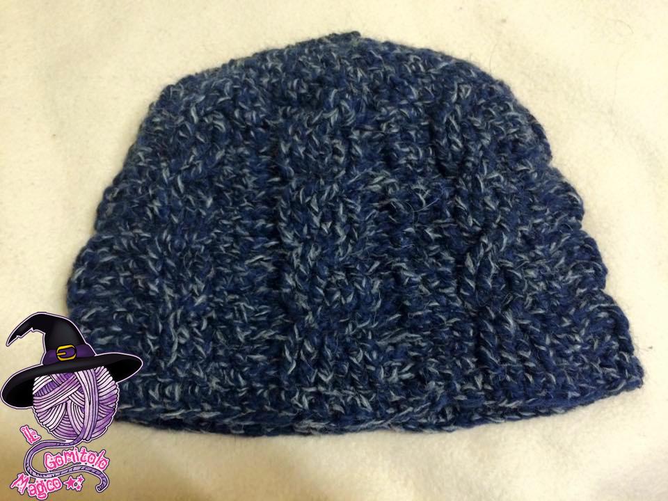 cappello blu